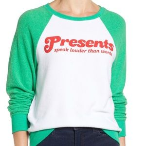 Wildfox Presents Speak Louder than Words pullover